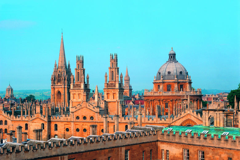 Oxford skyline spires