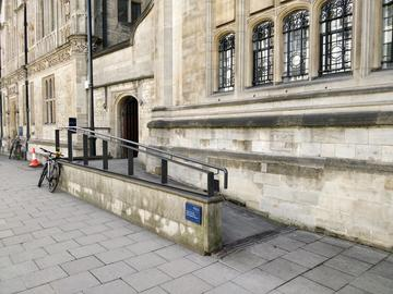 ruskin school of art access ramp